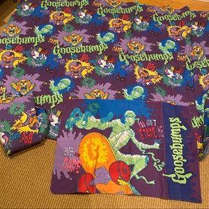 R.L. Stine Goosebumps TWIN Bed Sheet Set 3 pcs